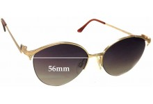 Yves Saint Laurent 4007 Replacement Sunglass Lenses - 56mm wide