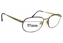 Sunglass Fix Replacement Lenses for Yves Saint Laurent 4088 - 57mm wide