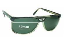 Sunglass Fix New Replacement Lenses for Yves Saint Laurent Adonis - 57mm Wide