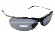 Sunglass Fix Replacement Lenses for Zerorh+ Angelfish RH58601 - 70mm Wide