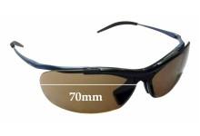 Sunglass Fix Replacement Lenses for Zerorh+ Angelfish RH58603 - 70mm Wide
