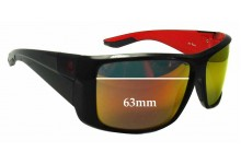 Dragon Kit  Replacement Sunglass Lenses - 63mm wide