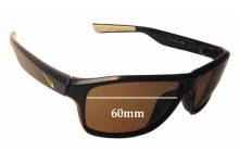 Nike Premier 6.0 EVO789 Replacement Sunglass Lenses - 60mm wide