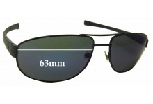 Tag Heuer Lrs 0252 Replacement Sunglass Lenses - 63mm Wide