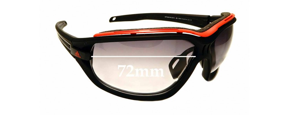 Días laborables Misterioso brindis  Adidas A193 Evil Eye Evo Pro L Replacement Lenses 72mm - by The Sunglass  Fix™
