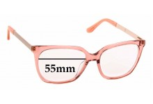 Sunglass Fix New Replacement Lenses for Alex Perry AP Sun Rx 69 - 55mm Wide