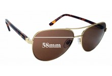 Sunglass Fix Replacement Lenses for Alex Perry AP Sun Rx 32 - 58mm Wide