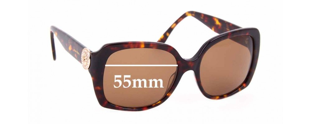 Sunglass Fix Replacement Lenses for Alex Perry AP Sun Rx 22 - 55mm Wide