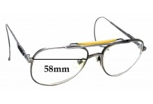 Sunglass Fix Replacement Lenses for American Optical 160 Z87 - 58mm wide