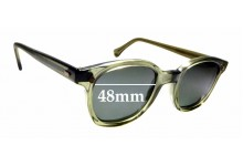 Sunglass Fix Replacement Lenses for American Optics AO Flexi Fit 6M Z87 - 48mm wide