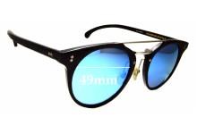 Sunglass Fix New Replacement Lenses for Antica Occhialeria Eros - 49mm Wide