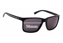 Sunglass Fix New Replacement Lenses for Armani Exchange AX 4041S - 58mm Wide