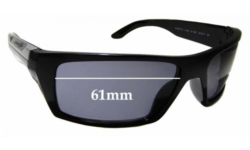 Sunglass Fix Replacement Lenses for Arnette Roboto AN4181 - 61mm wide