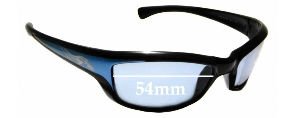 Sunglass Fix Replacement Lenses for Arnette AN4037 - 54mm wide