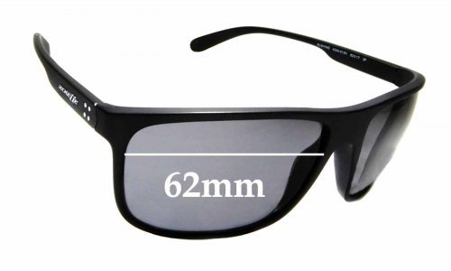 Sunglass Fix Replacement Lenses for Arnette Bushing 4244 - 62mm wide
