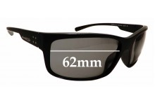Sunglass Fix Replacement Lenses for Arnette Fast Ball 2.0 AN4242 - 62mm Wide