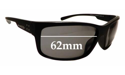 Sunglass Fix Replacement Lenses for Arnette Fast Ball 2.0 AN4242 - 62mm Wide