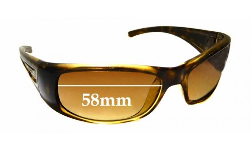 Sunglass Fix Replacement Lenses for Arnette Hold Up - 58mm wide