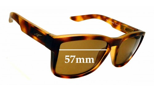 Sunglass Fix Replacement Lenses for Arnette Turf 4220 - 57mm wide