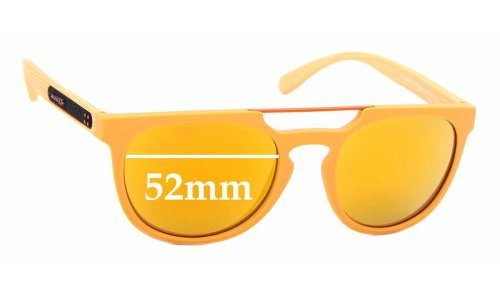 Sunglass Fix Replacement Lenses for Arnette Woodward AN4237 - 52mm wide