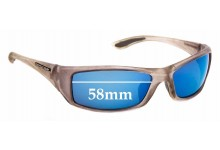 Sunglass Fix New Replacement Lenses for Arsenal Optix Voltage Pure - 58mm Wide