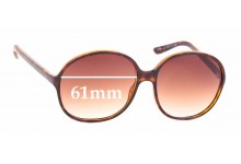 Sunglass Fix Replacement Lenses for Balenciaga BAL 0031/S - 61mm wide