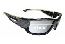 Sunglass Fix Replacement Lenses for Barz Optics Floater - 61mm wide