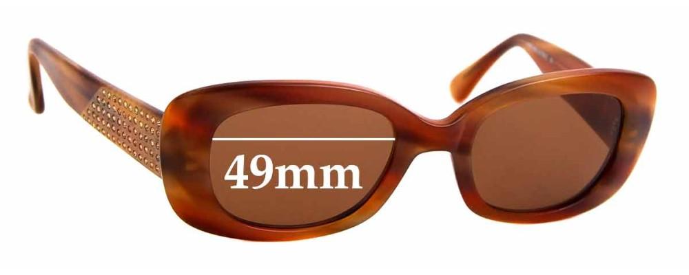 Sunglass Fix Replacement Lenses for Beausoleil Paris 188 - 49mm wide