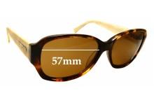 Sunglass Fix Replacement Lenses for Bill Bass 25481 - 57mm wide