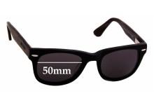 Bill Bass Carrow 25696 Replacement Sunglass Lenses - 50mm wide