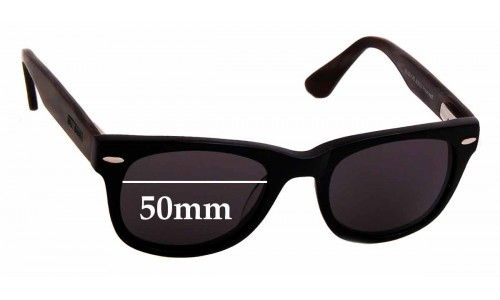 Bill Bass Carrow 25696 Replacement Sunglass Lenses - 50mm wide