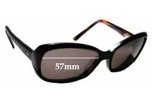 Sunglass Fix Replacement Lenses for Bill Bass Hailey - 57mm wide