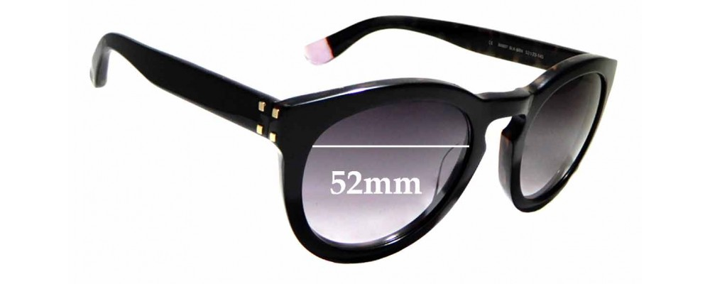 Sunglass Fix Replacement Lenses for Blanc B0007 - 52mm wide
