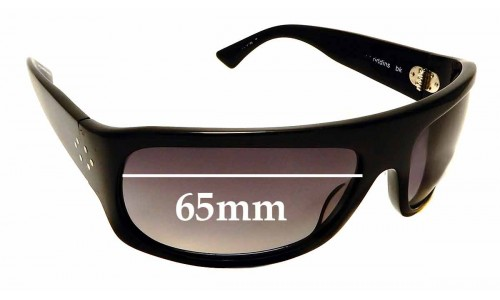 Sunglass Fix Replacement Lenses for Blinde Good Riddins - 65mm wide