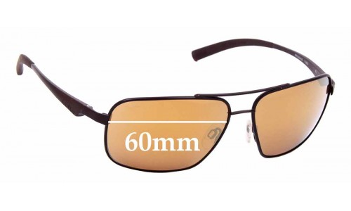 Sunglass Fix Replacement Lenses for Bolle Brisbane - 60mm wide