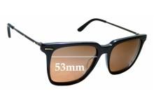 Sunglass Fix Replacement Lenses for Bottega Veneta BV0027S - 53mm wide