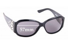 Sunglass Fix New Replacement Lenses for Brighton Maharani 57mm