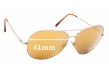 Sunglass Fix Replacement Lenses for Burberry B 3008 - 61mm Wide