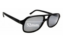 Sunglass Fix Replacement Lenses for Burberry B 2088 - 52mm wide