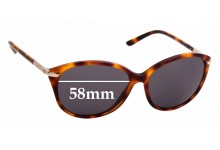 Sunglass Fix Replacement Lenses for Burberry B 4125 - 58mm Wide