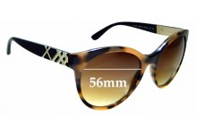 Sunglass Fix New Replacement Lenses for Burberry B 4236 - 56mm Wide