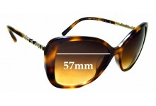 Sunglass Fix Replacement Lenses for Burberry B 4238-F - 57mm wide