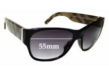 Sunglass Fix Replacement Lenses for Burberry B 4104 M-A - 55mm wide