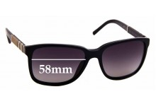 Sunglass Fix Replacement Lenses for Burberry B 4181 - 58mm Wide