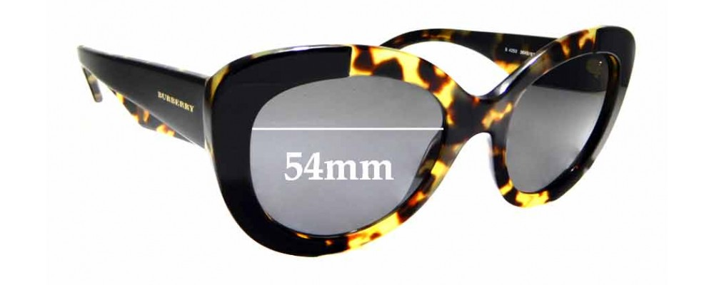 ba5d0c2cbac0 Burberry B 4253Replacement Lenses 58mm Wide by The Sunglass Fix™