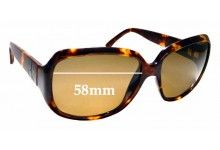 Sunglass Fix Replacement Lenses for Calvin Klein 3102S - 58mm wide