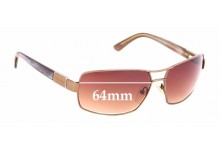 Sunglass Fix New Replacement Lenses for Calvin Klein CK916S - 64mm Wide