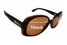 Sunglass Fix Replacement Lenses for Calvin Klein CK4182 S - 54mm wide