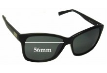Sunglass Fix New Replacement Lenses for Calvin Klein R695S - 56mm Wide