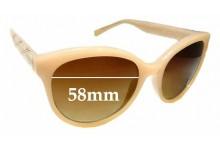 Sunglass Fix New Replacement Lenses for Calvin Klein R735S - 58mm Wide